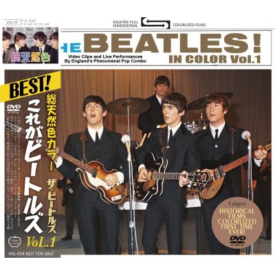 画像1: THE BEATLES / THE BEATLES IN COLOR Vol.1 DVD