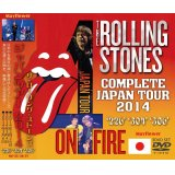 THE ROLLING STONES / COMPLETE JAPAN TOUR 2014 【3DVD】