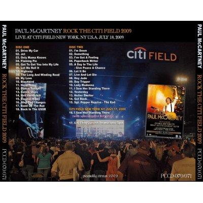 画像2: PAUL McCARTNEY / ROCK THE CITI FIELD 2009 【2CD】