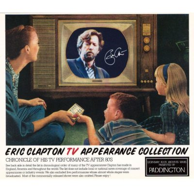 画像1: ERIC CLAPTON / TV APPEARANCE COLLECTION 【5CD】