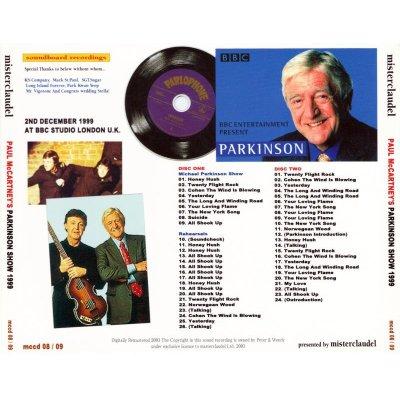 画像2: PAUL McCARTNEY / MICHAEL PARKINSON SHOW 【2CD】