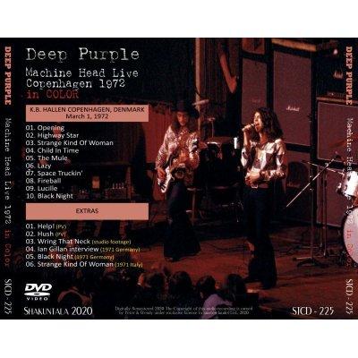 画像2: DEEP PURPLE MACHINE HEAD LIVE COPENHAGEN 1972 in COLOR DVD