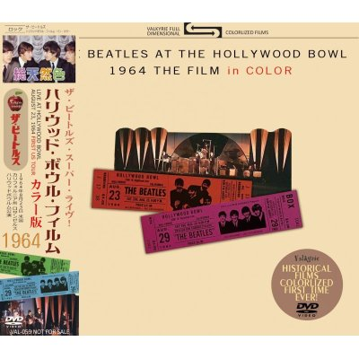 画像1: THE BEATLES AT THE HOLLYWOOD BOWL 1964 THE FILM in COLOR DVD