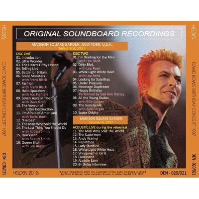 画像2: DAVID BOWIE 1997 BIRTHDAY CONCERT 2CD