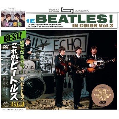 画像1: THE BEATLES / THE BEATLES IN COLOR Vol.3 DVD