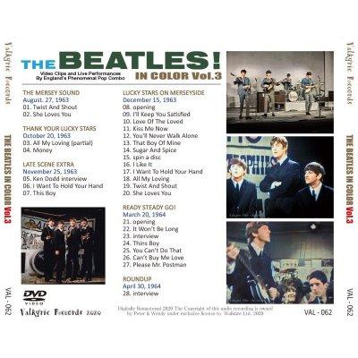 画像2: THE BEATLES / THE BEATLES IN COLOR Vol.3 DVD