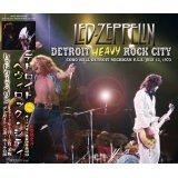 LED ZEPPELIN 1973 DETROIT HEAVY ROCK CITY 3CD