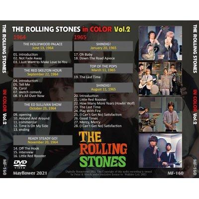 画像2: THE ROLLING STONES / STONES IN COLOR Vol.2 DVD