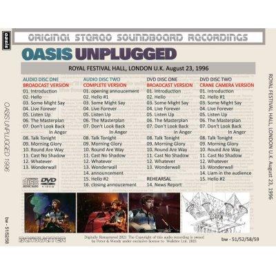画像2: OASIS 1996 UNPLUGGED 2CD+2DVD