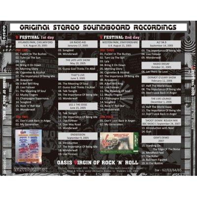 画像2: OASIS 2005 VIRGIN OF ROCK 'N' ROLL 4CD