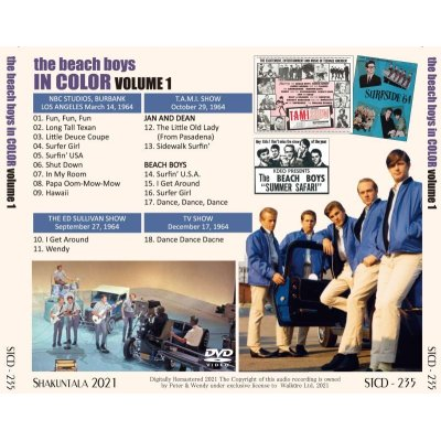 画像2: BEACH BOYS IN COLOR VOLUME 1 DVD