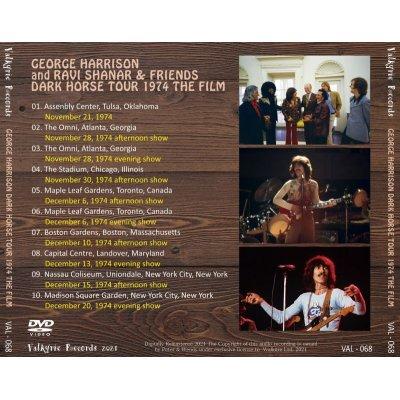 画像2: GEORGE HARRISON 1974 DARK HORSE TOUR THE FILM DVD
