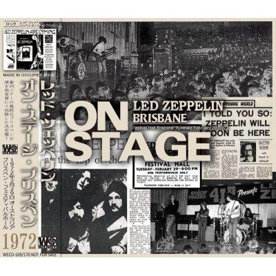 画像1: LED ZEPPELIN 1972 ON STAGE BRISBANE 2CD